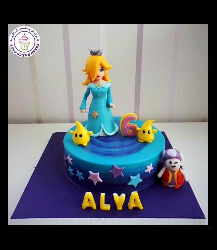 Super Mario Themed Cake - Rosalina
