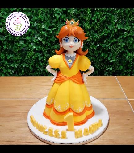 Cake - Princess Daisy - 3D Cake