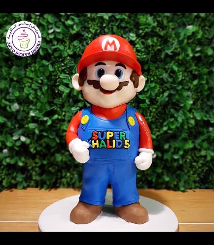 Cake - Super Mario - 3D Cake