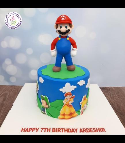 Cake - Super Mario - 3D Cake Topper