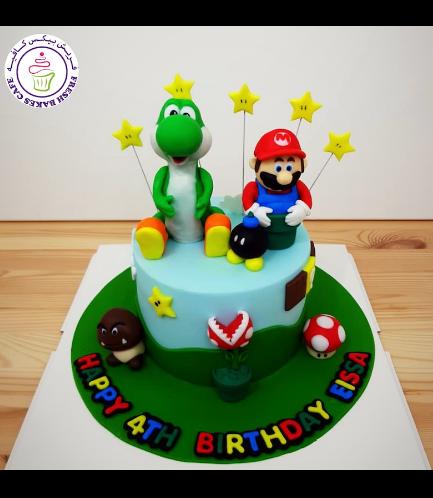 Cake - Super Mario & Yoshi - 3D Cake Toppers
