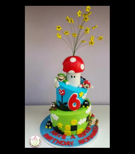 Super Mario Themed Cake 02