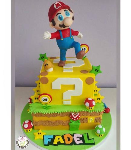 Super Mario Themed Cake 03