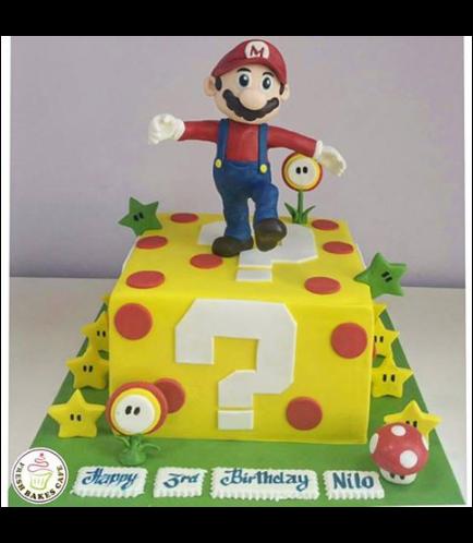 Super Mario Themed Cake 04
