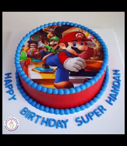 Super Mario Themed Cake 06