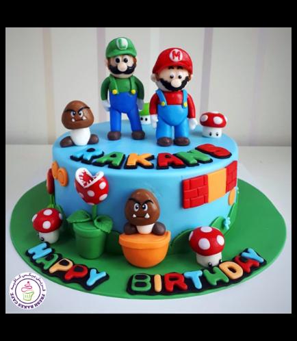 Super Mario Themed Cake 07