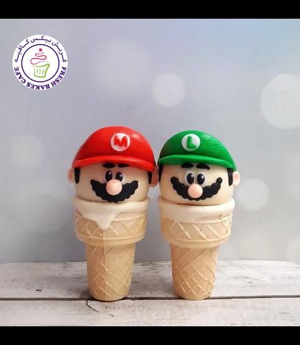 Super Mario Themed Cone Cake Pops 03