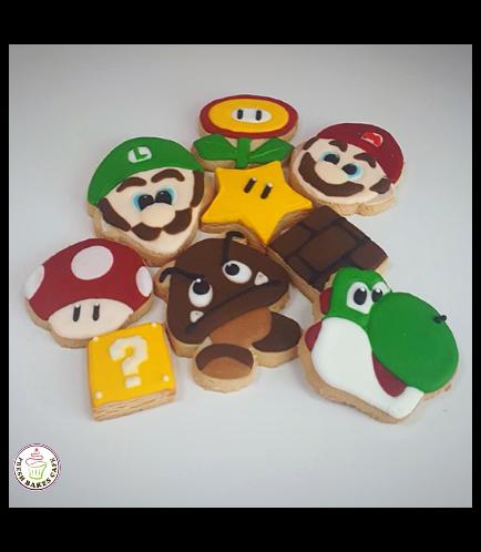 Super Mario Themed Cookies 01