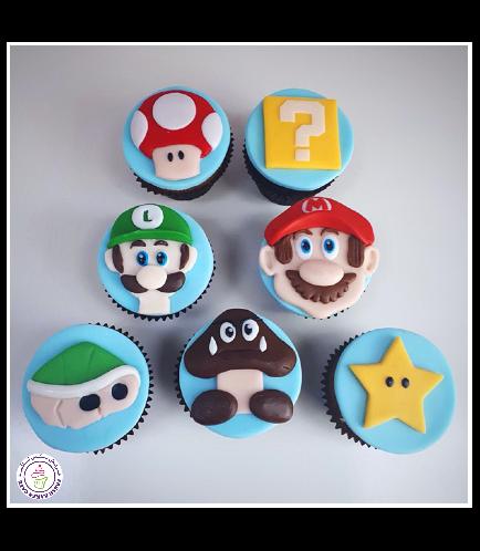 Super Mario Themed Cupcakes 01
