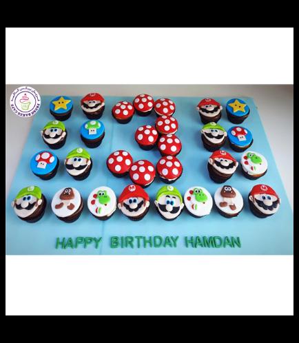 Super Mario Themed Cupcakes 02