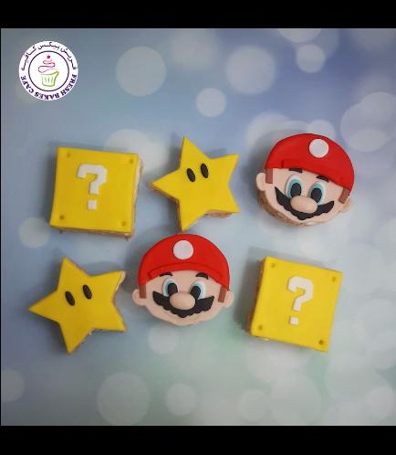 Super Mario Themed Krispie Treats
