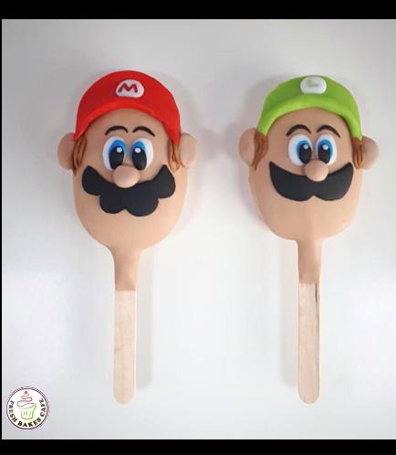 Super Mario Themed Popsicakes 01