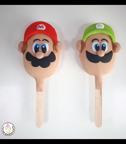 Super Mario Themed Popsicakes 1