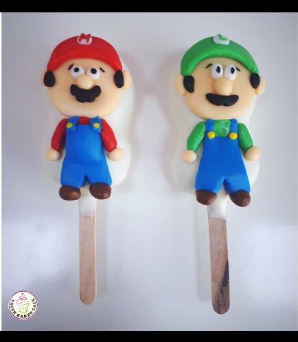 Super Mario Themed Popsicakes 02