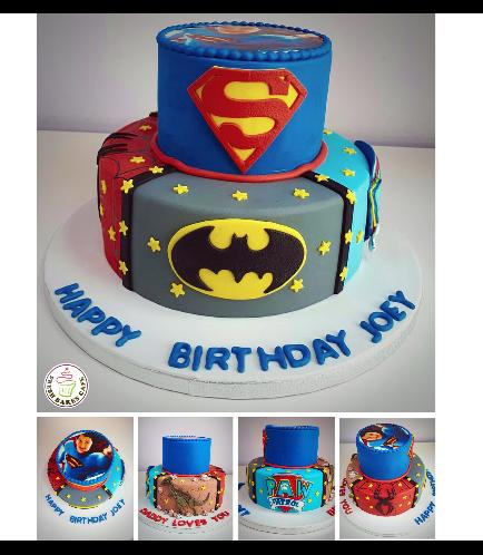Superheroes Themed Cake 10