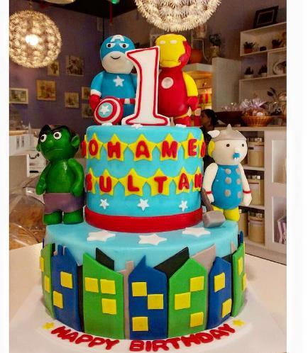 Cake - Superheroes