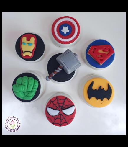 Superheroes Themed Chocolate Covered Oreos 02