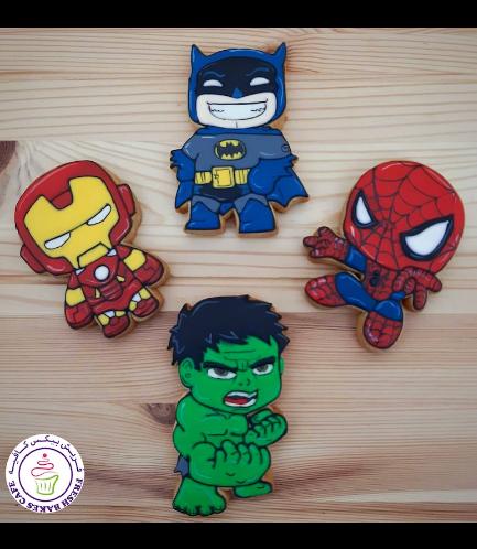 Superheroes Themed Cookies - Characters 08