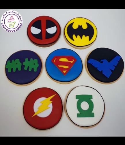 Superheroes Themed Cookies 03