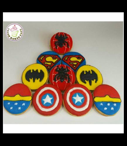 Superheroes Themed Cookies 02