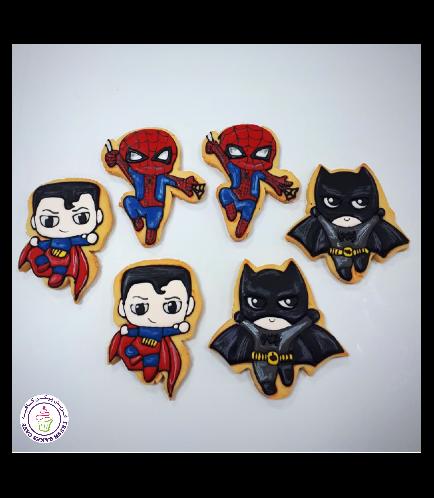 Superheroes Themed Cookies 04