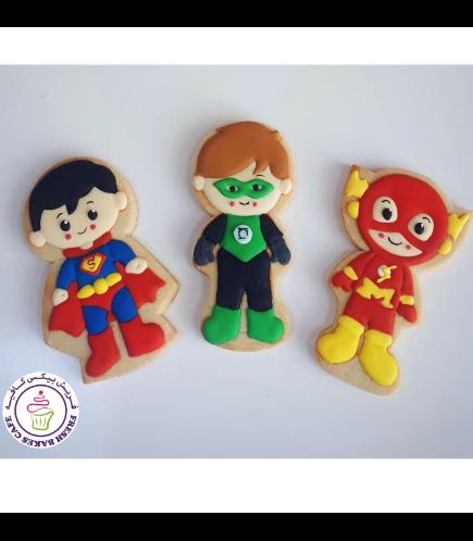 Superheroes Themed Cookies - Characters 02