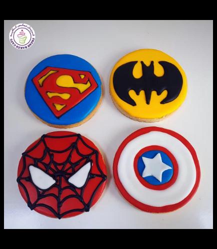Superheroes Themed Cookies 05