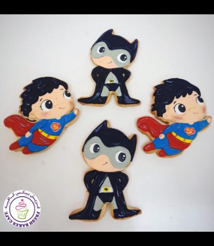 Superheroes Themed Cookies - Characters 04