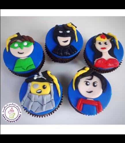 Cupcakes - LEGO Superheroes