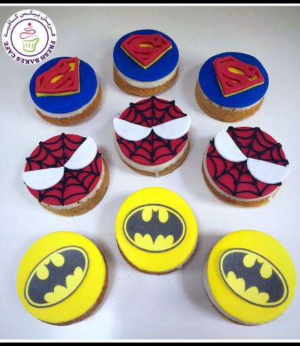 Superheroes Themed Donuts - Logos 01