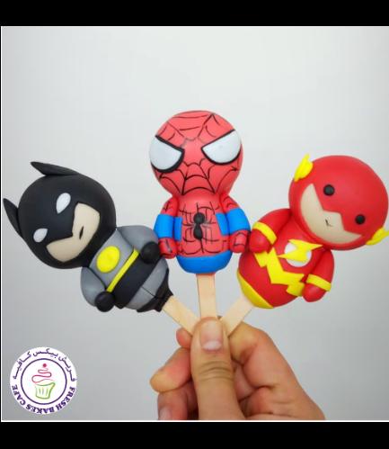 Superheroes Themed Popsicakes 04