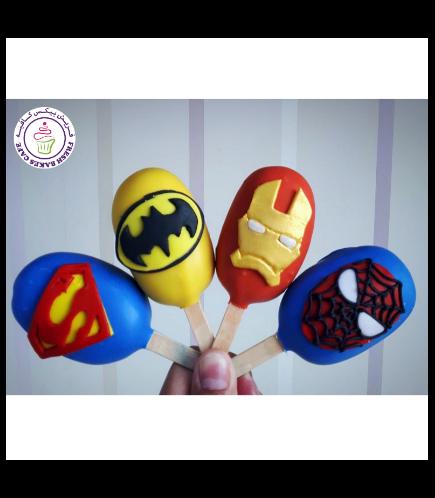Superheroes Themed Popsicakes 02
