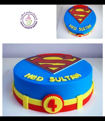 Superman Themed Cake 04