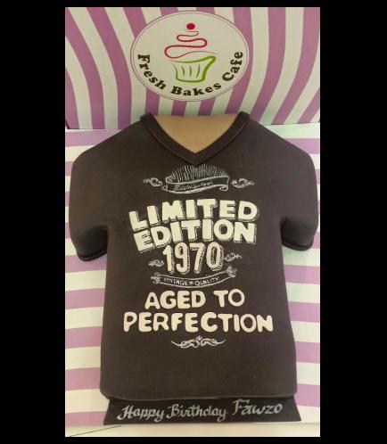 T-Shirt Themed Cake - 3D Cake
