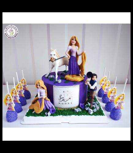 Tangled Themed Cake 03b