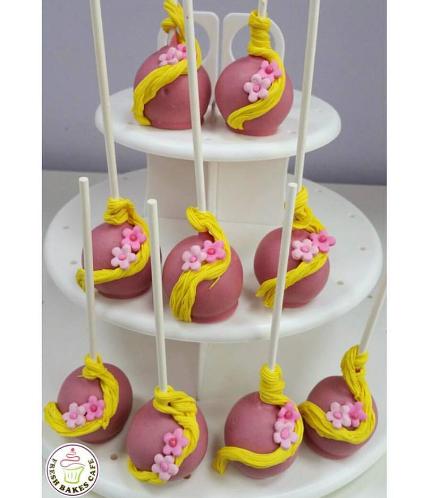 Tangled Themed Cake Pops 01