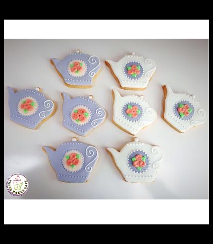 Teapot Themed Cookies