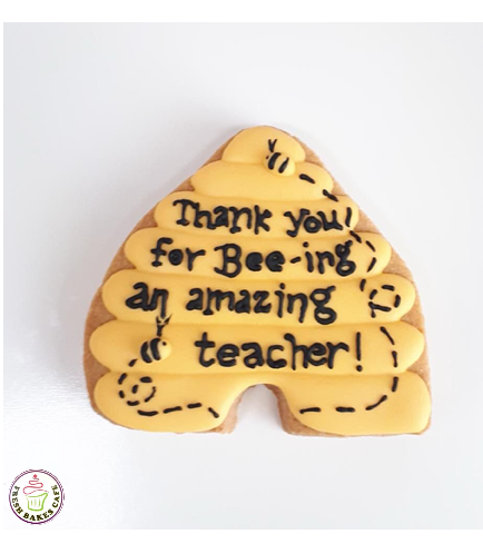 Cookies - Thank You - Teachers - Bee Hive