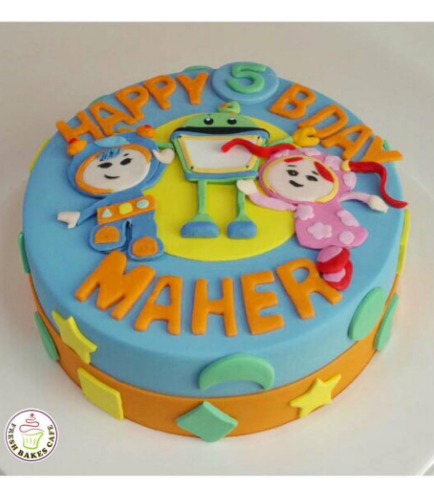 Team Umizoomi Themed Cake