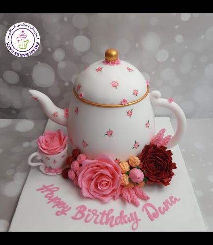Teapot Themed Cake