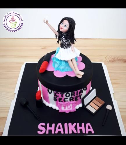 Teenage Girl Themed Cake - 3D Character