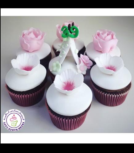 Cupcakes - Flowers, Roses, & Teepee