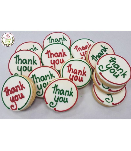 Thank You Themed Cookies 2