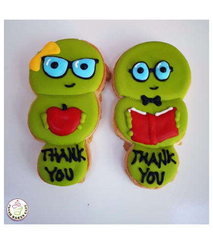 Cookies - Thank You - Librarian 01