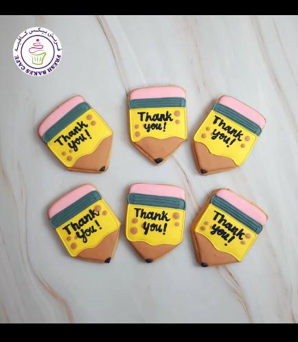 Cookies - Thank You - Teachers - Pencils