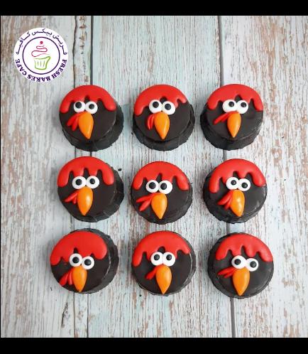 Thanksgiving Themed Chocolate Covered Oreos - Turkeys 02