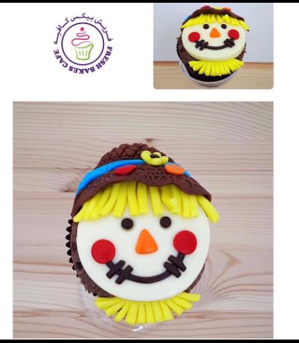 Cupcakes - Scarecrow