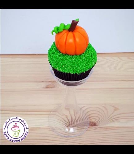Cupcakes - Pumpkin - Fondant