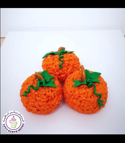 Krispie Treats - Pumpkin