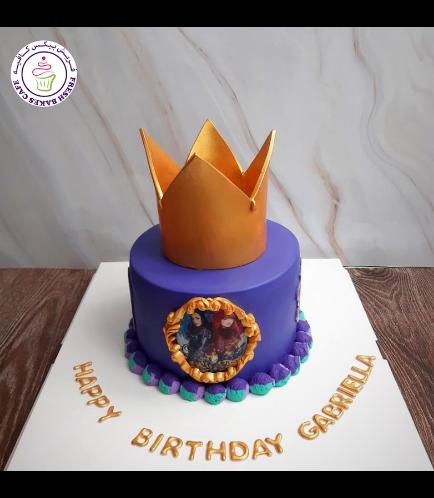 The Descendants Themed Cake